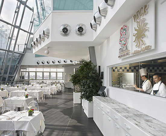 Official restaurant of Italy Pavilion at Expo Milano 2015.