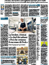 """The broker, the bakers and the master salami maker """"We create the success of Peck"""""""