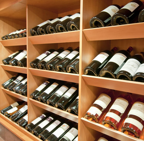 The great wine cellar Peck