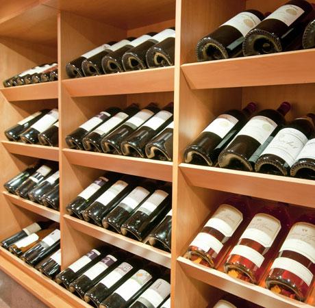 The great wine cellar Peck
