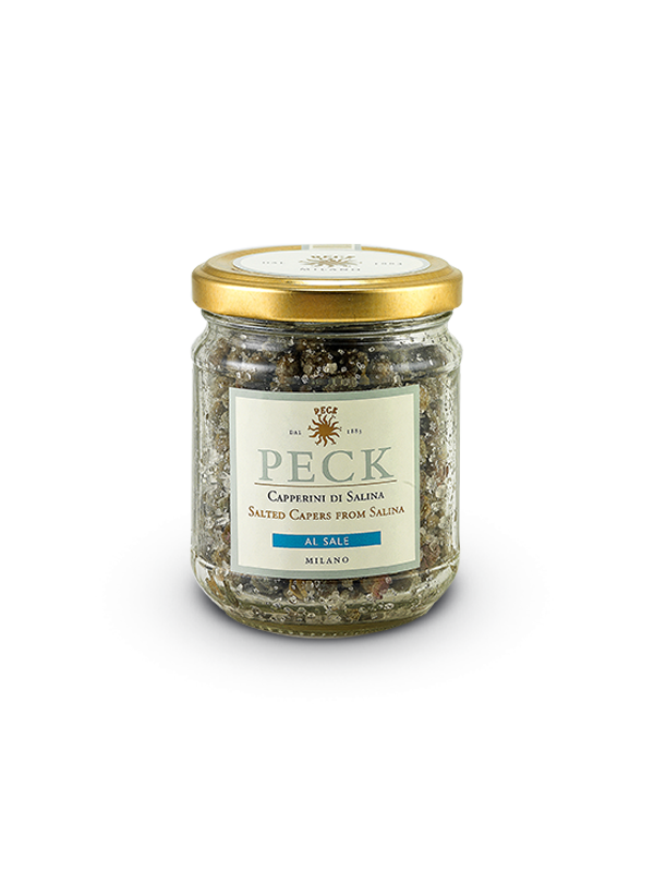 Salted capers from Salina 140 g