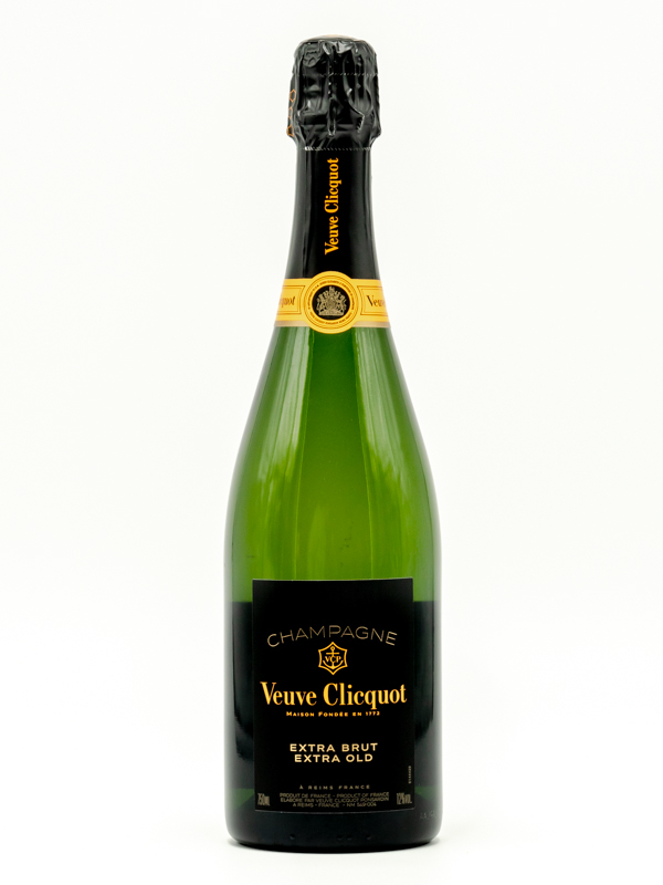 CHAMPAGNE EXTRA BRUT EXTRA OLD VEUVE CLICQUOT 75 cl