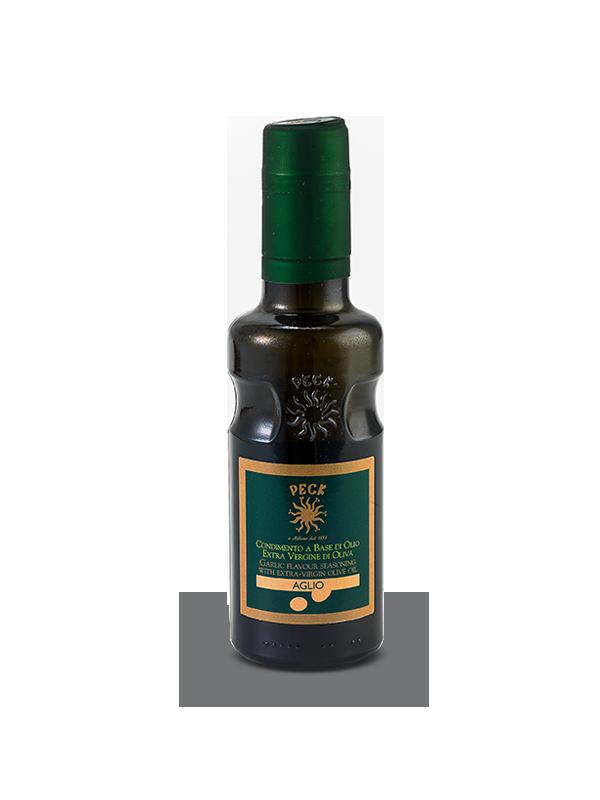 Garlic flavoured extra virgin olive oil seasoning 25 cl