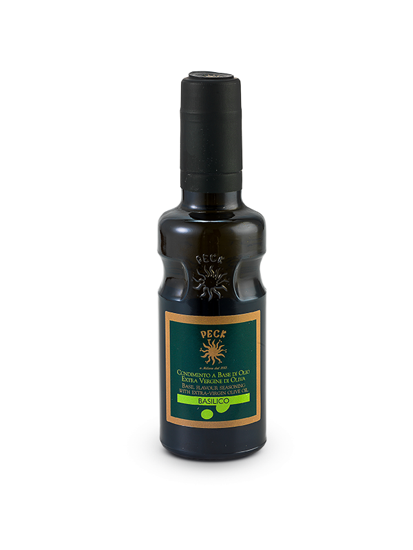 Basil flavoured extra virgin olive oil seasoning 25 cl