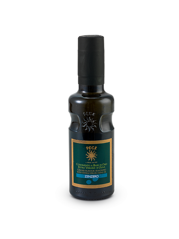 Ginger flavoured extra virgin olive oil seasoning 25 cl