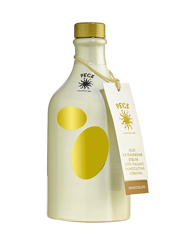 Peck extra virgin pitted olive oil 50 cl