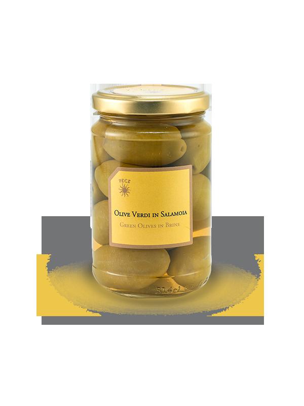 OLIVE VERDI IN SALAMOIA 300 g