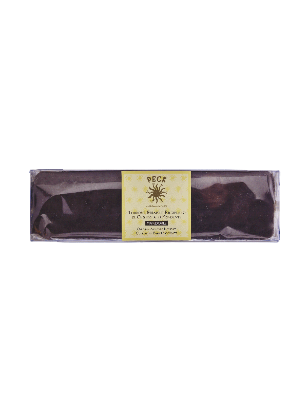 Crumbly nougat covered in dark chocolate 250 g