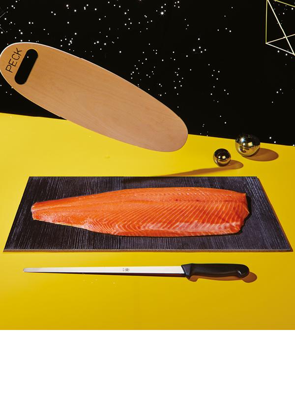 Tripudio di salmone