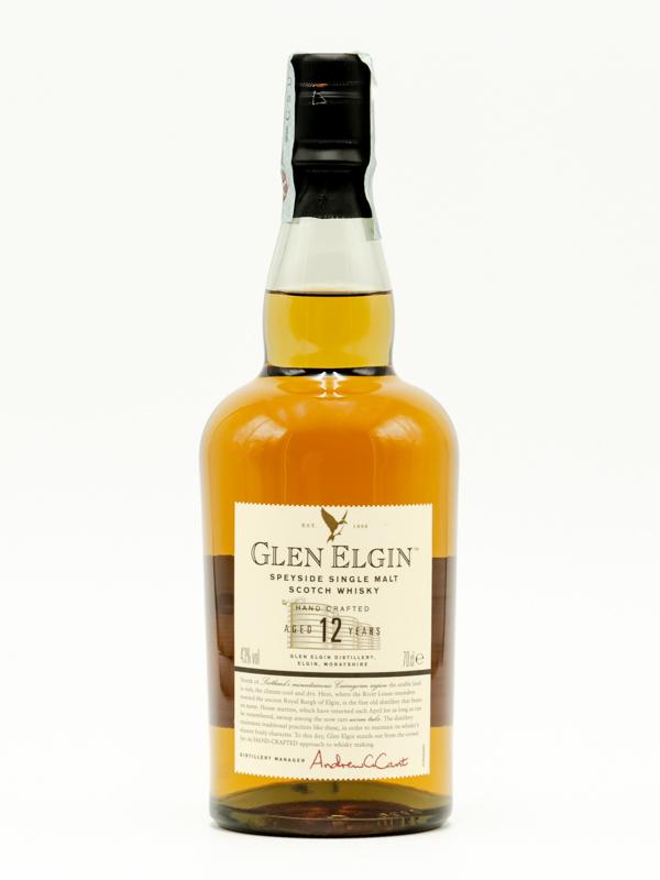 WHISKY GLEN ELGIN 12 YEARS OLD 70 cl