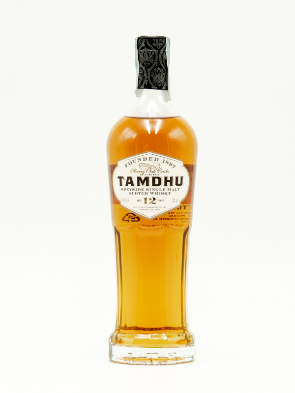 WHISKY TAMDHU 12 YEARS OLD 70 cl