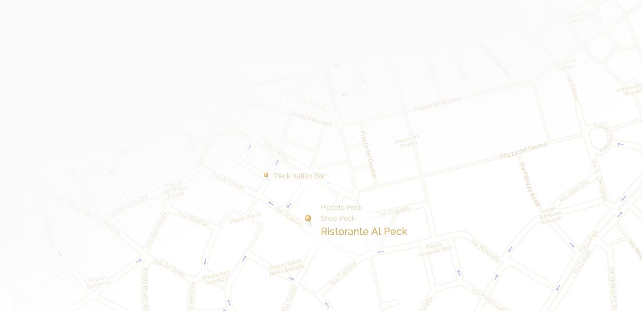 Ristorante Al Peck Map