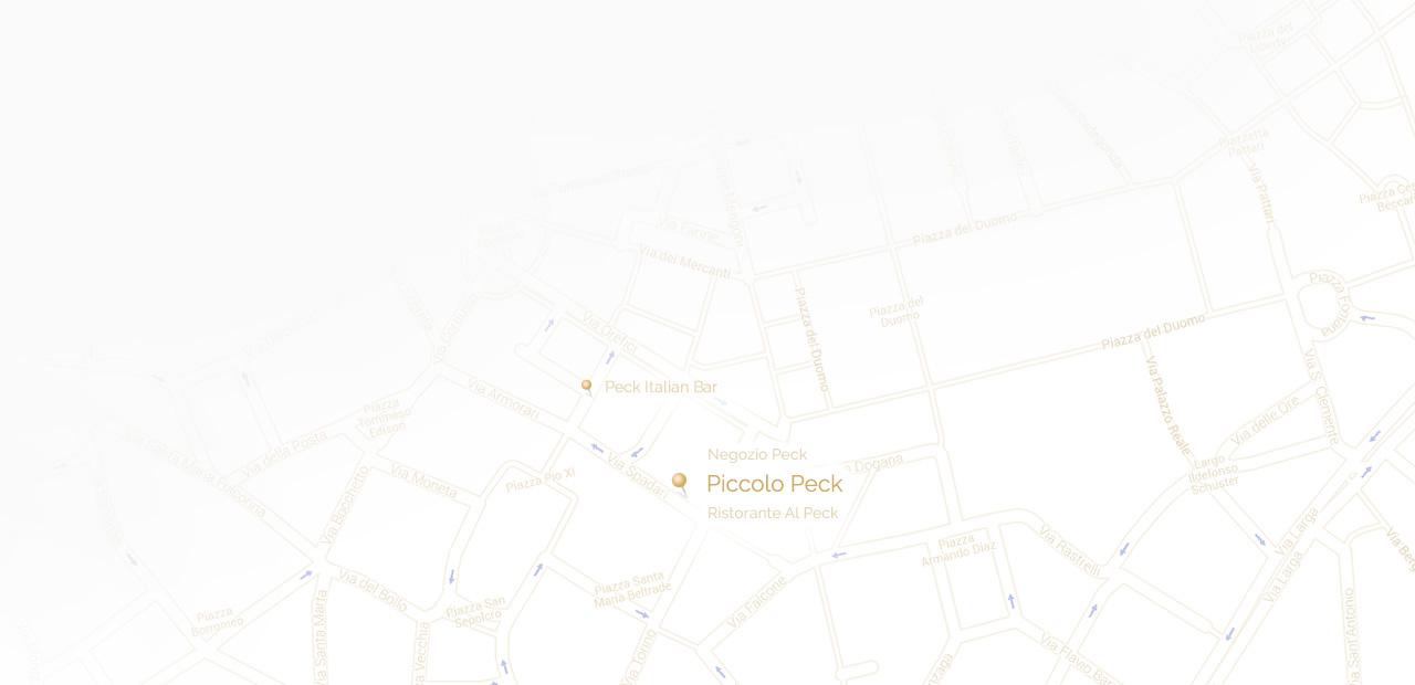 Piccolo Peck Mappa